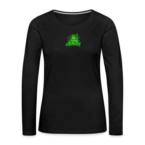 GFSkullOnlyColorShirt - Women's Premium Longsleeve Shirt