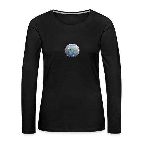 tcs logo - Women's Premium Longsleeve Shirt