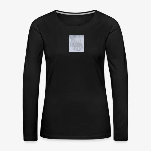 main dans la main - T-shirt manches longues Premium Femme