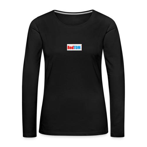RedRed TDMBlue - Women's Premium Longsleeve Shirt