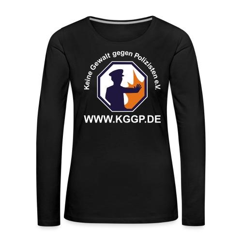 logo_invert - Frauen Premium Langarmshirt