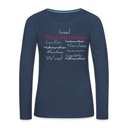 shirt1 - Frauen Premium Langarmshirt