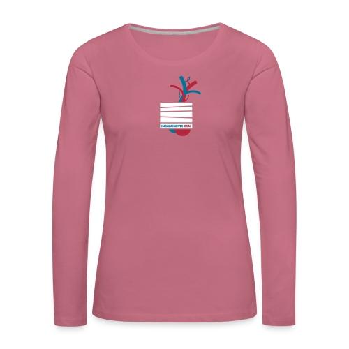Embaumements.com - T-shirt manches longues Premium Femme