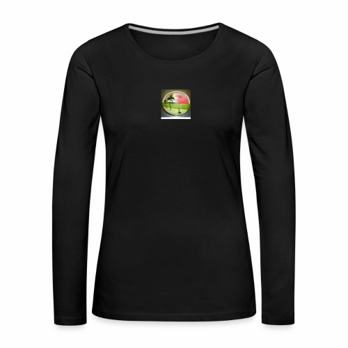 melon view - Women's Premium Longsleeve Shirt