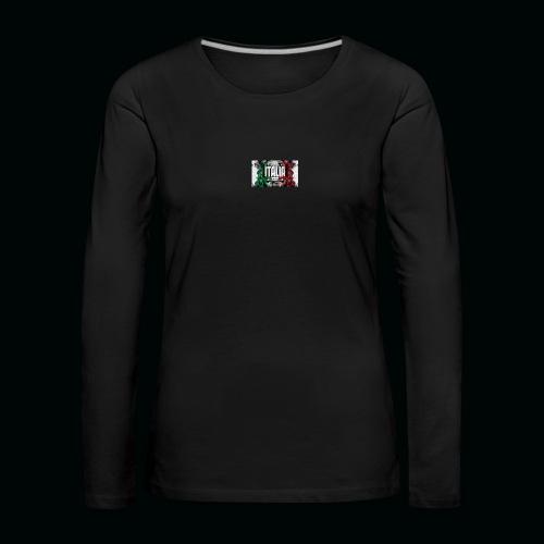 hardcore1 - T-shirt manches longues Premium Femme