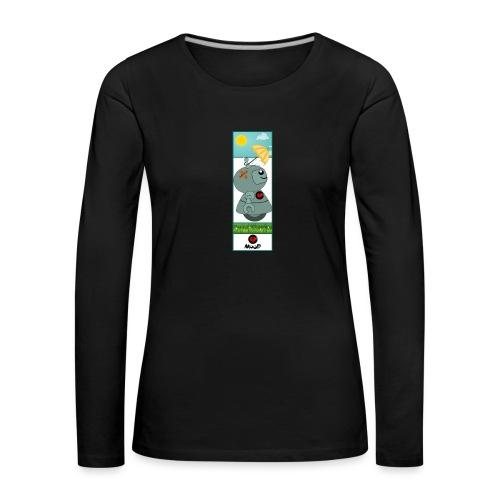 cloud - Maglietta Premium a manica lunga da donna