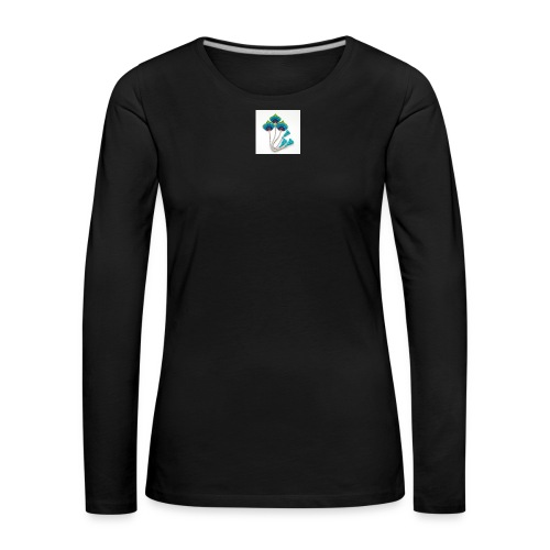 Peacock feather - Women's Premium Longsleeve Shirt
