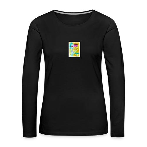 Woman and Wine - Frauen Premium Langarmshirt