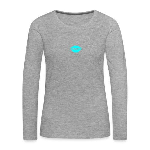 Blue kiss - Women's Premium Longsleeve Shirt