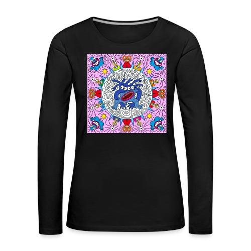 speedy virus send messeng - Frauen Premium Langarmshirt