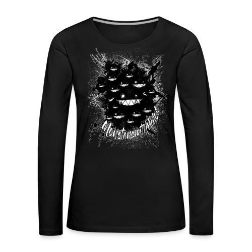 Hidden in the Darkness - Women's Premium Longsleeve Shirt