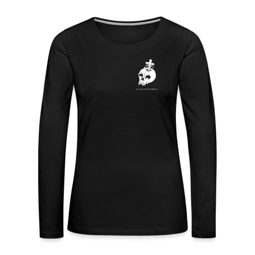 Skull - Frauen Premium Langarmshirt
