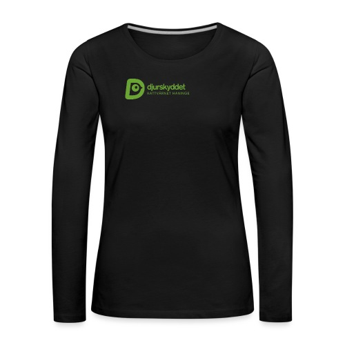 KV tryck png - Långärmad premium-T-shirt dam