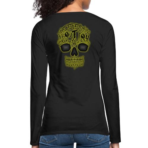 Hate everything - T-shirt manches longues Premium Femme