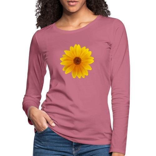 TIAN GREEN Garten - Mittagsgold 2020 01 - Frauen Premium Langarmshirt