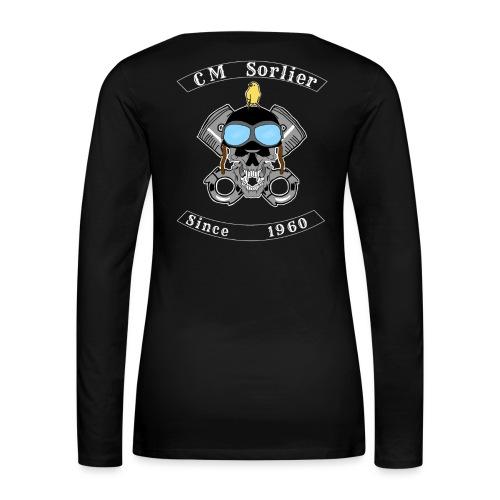 Club moto - T-shirt manches longues Premium Femme