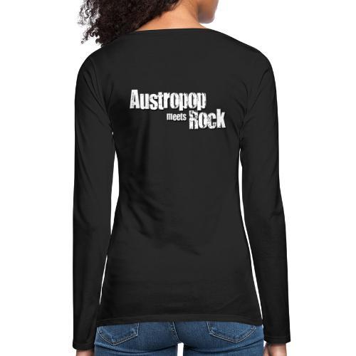 Austropop meets Rock classic back - Frauen Premium Langarmshirt