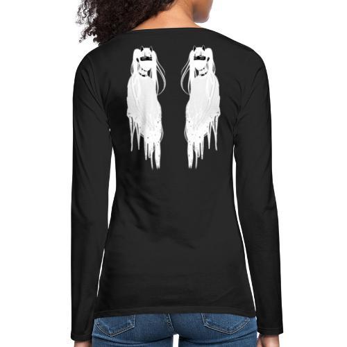 Face To Face (white) - T-shirt manches longues Premium Femme