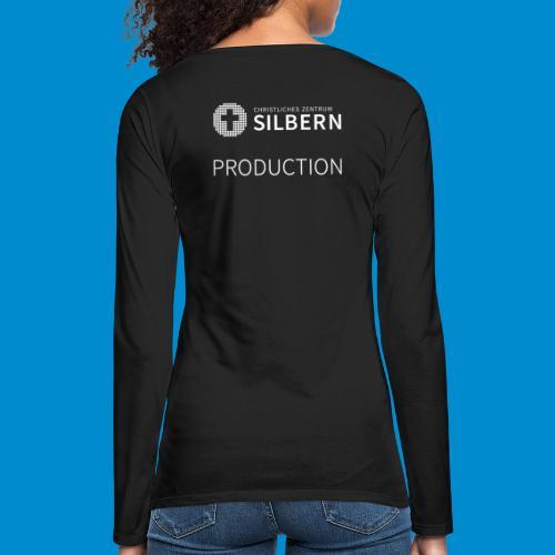 Silbern Production - Frauen Premium Langarmshirt
