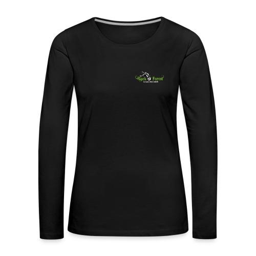 Black-Forest-Frontside - Frauen Premium Langarmshirt