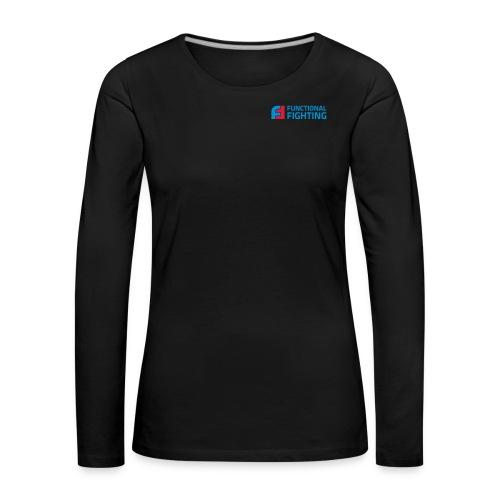 ff logo cmyk - Frauen Premium Langarmshirt