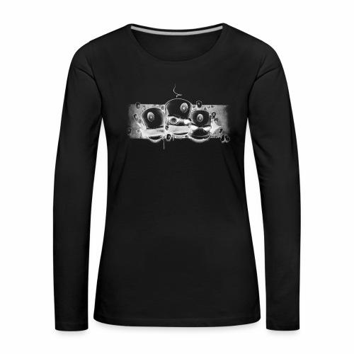 Dont ! Moe Friscoe ver02 - Dame premium T-shirt med lange ærmer
