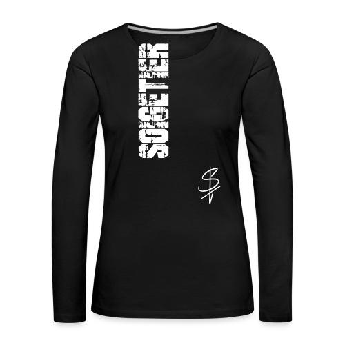 logo st - Frauen Premium Langarmshirt