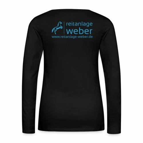 logo 20cm www konvertiert - Frauen Premium Langarmshirt