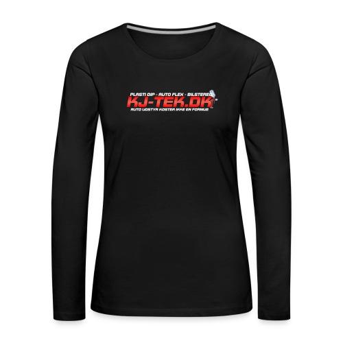 shirtlogo png - Dame premium T-shirt med lange ærmer