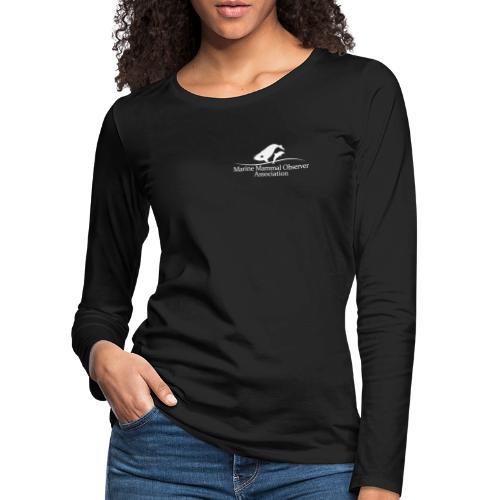 PSO identifier MMOA logo white - Women's Premium Longsleeve Shirt