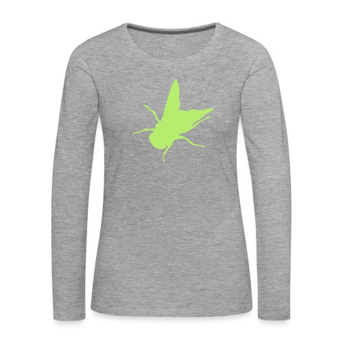fliege - Frauen Premium Langarmshirt