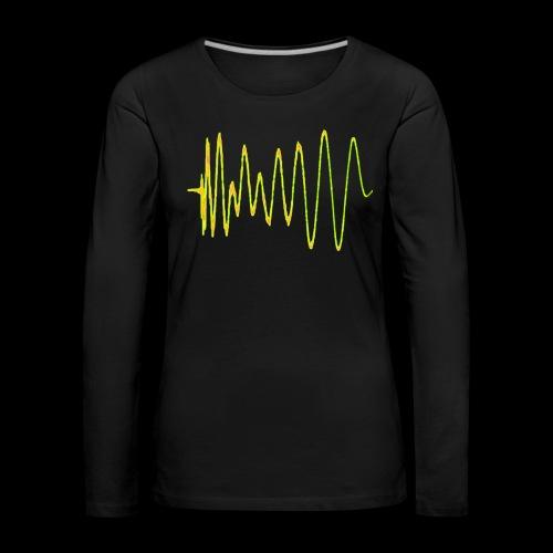 Boom 909 Drum Wave - Women's Premium Longsleeve Shirt