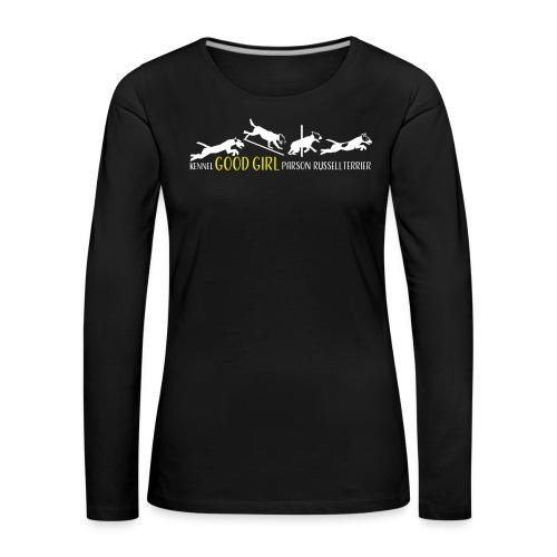 goodgirls_fram_spreadshir - Långärmad premium-T-shirt dam