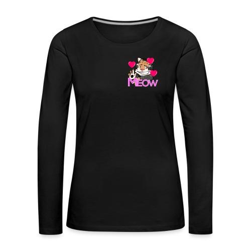 Flirty - Premium langermet T-skjorte for kvinner