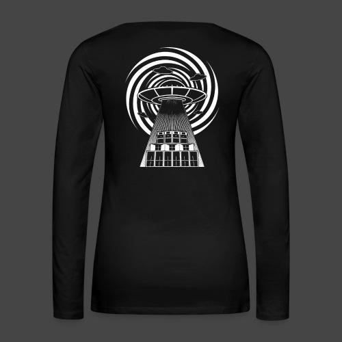 Alien Tekno 23 UFO frameless - Maglietta Premium a manica lunga da donna