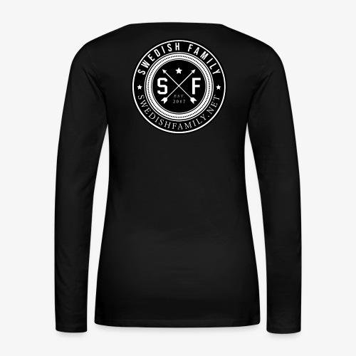 Swedish Family - Långärmad premium-T-shirt dam