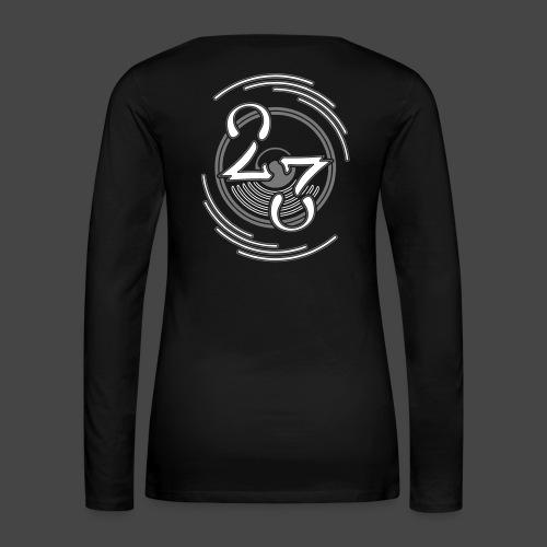 23 - Maglietta Premium a manica lunga da donna