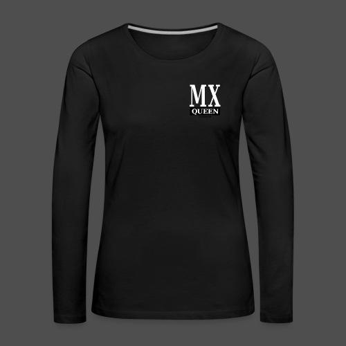 MX Queen - Koszulka damska Premium z długim rękawem
