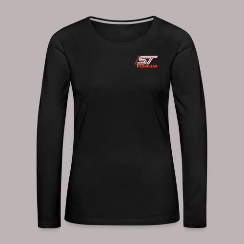 ruecken - Frauen Premium Langarmshirt