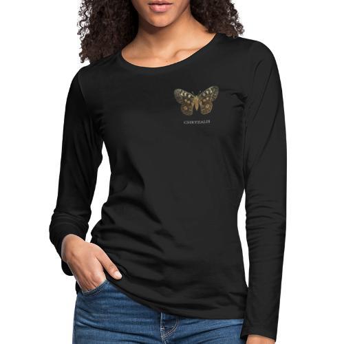 Chrysalis-transparent-PNG - T-shirt manches longues Premium Femme