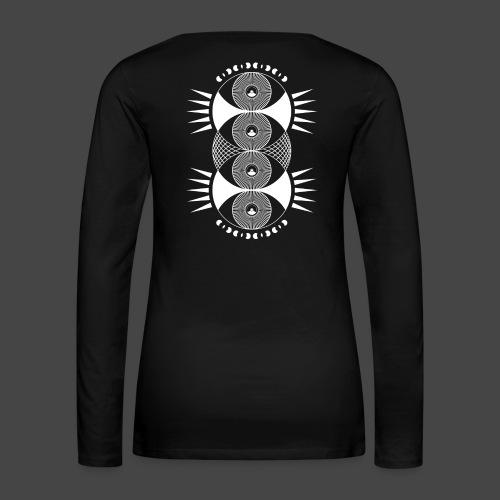 tekno 23 rings - Maglietta Premium a manica lunga da donna