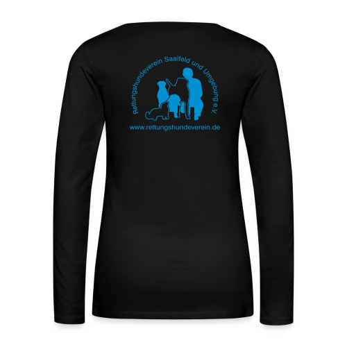 logovectorblackklein - Frauen Premium Langarmshirt