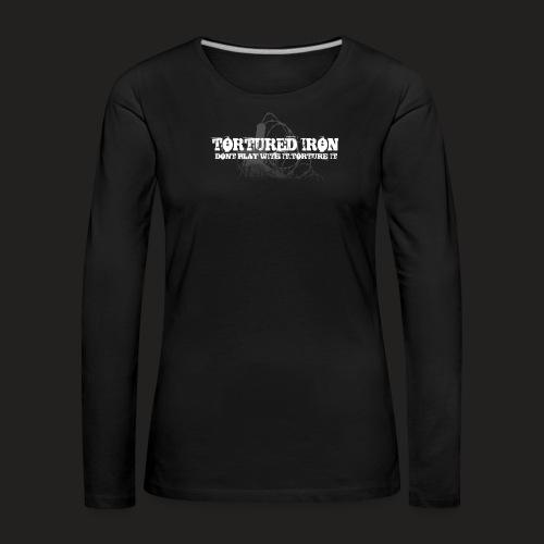 KNOW YOUR LIMITS - Women's Premium Longsleeve Shirt