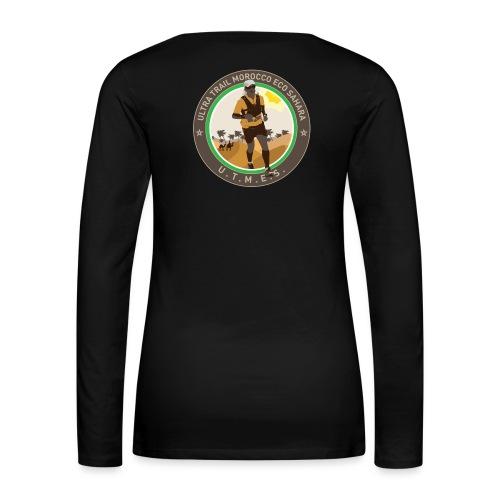 UTMES Logo - Frauen Premium Langarmshirt