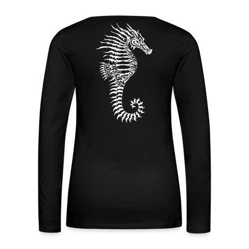 Alien Seahorse Invasion - Women's Premium Longsleeve Shirt