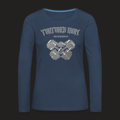 skull - Women's Premium Longsleeve Shirt