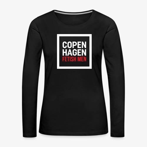 Copenhagen Fetish Men Jacket - Dame premium T-shirt med lange ærmer