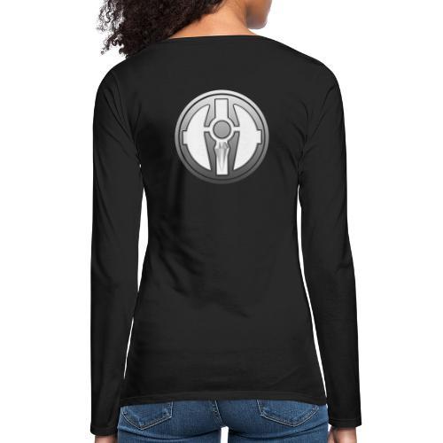 BDL logo - Naisten premium pitkähihainen t-paita