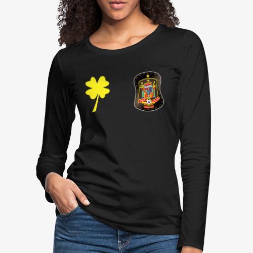 Trébol de la suerte CEsp - Camiseta de manga larga premium mujer