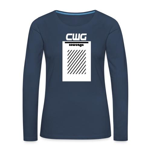 Cowonge - Frauen - Frauen Premium Langarmshirt